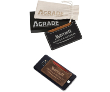 AGRADE Sueded Leatherette Smart Wallet